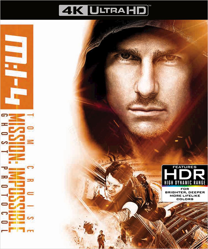 Миссия невыполнима: Протокол Фантом (Blu-ray 4K Ultra HD) blu ray disc в гомеле