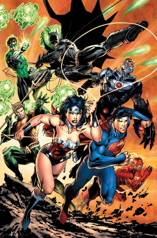 Плакат Justice League: Charge (№140) фото