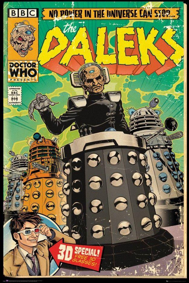 Плакат Doctor Who: Daleks Comic