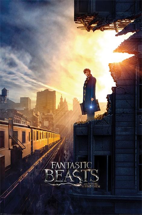 Плакат Fantastic Beasts And Where To Find Them: DuskПлакат Fantastic Beasts And Where To Find Them: Dusk создан по мотивам по мотивам фильма «Фантастические твари и где они обитают», рассказывающего о приключениях писателя Ньюта Скамандера в Нью-Йоркском секретном обществе волшебниц и волшебников.<br>
