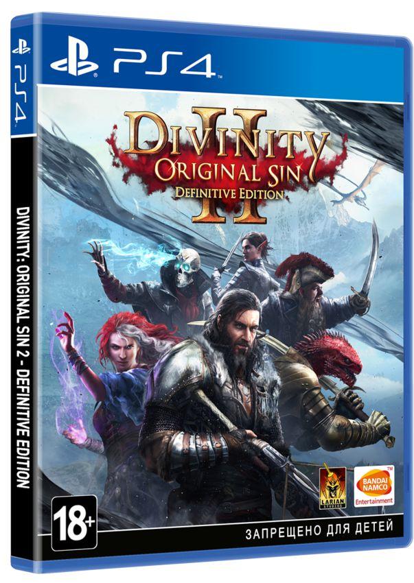 Divinity: Original Sin II. Definitive Edition [PS4] видеоигра для ps4 hitman definitive edition