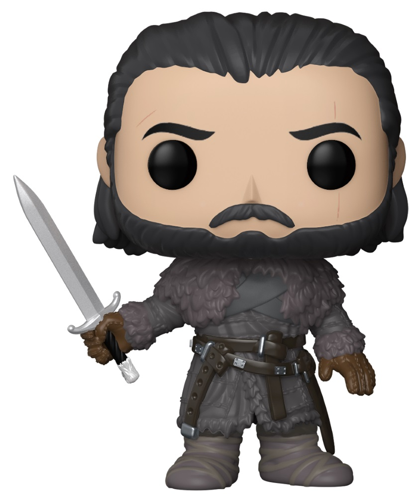 Фигурка Funko POP: Game Of Thrones – Jon Snow Beyond The Wall (9,5 см) 1 6 scale game of thrones jon snow head sculpt with curly long hair model toys for 12 male action figure collections freeshipp