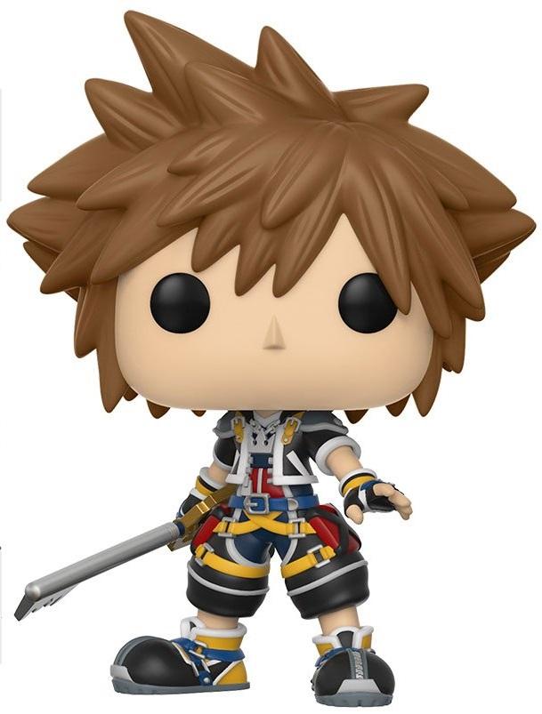 Фигурка Funko POP: Kingdom Hearts – Sora (9,5 см) free shipping anime folding wallet kingdom hearts sora high quality short pu purse