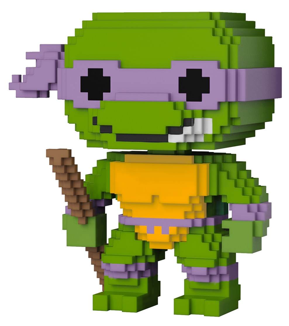 Купить со скидкой Фигурка Funko POP Television: Teenage Mutant Ninja Turtles – Donatello 8-Bit (9,5 см)
