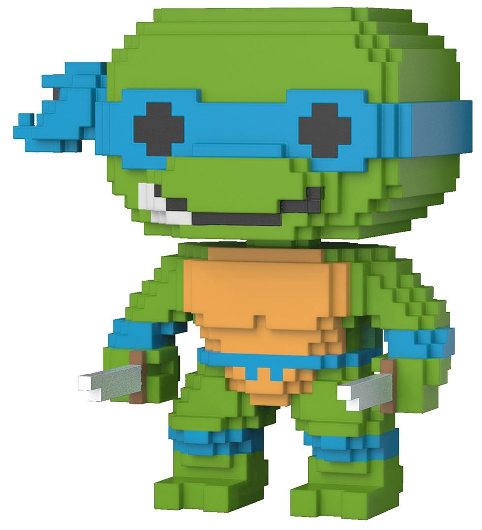 Фигурка Funko POP Television: Teenage Mutant Ninja Turtles – Leonardo 8-Bit (9,5 см) цены онлайн