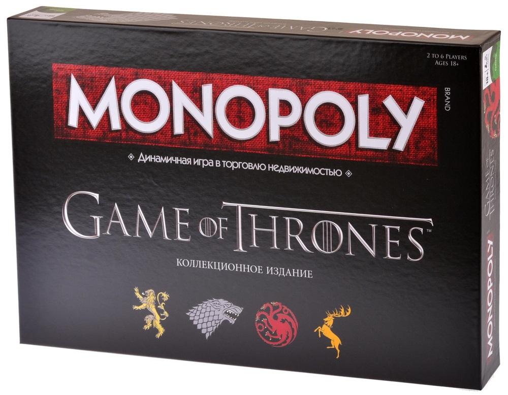 Настольная игра Монополия: Игра Престолов игра hasbro монополия junior холодное сердце