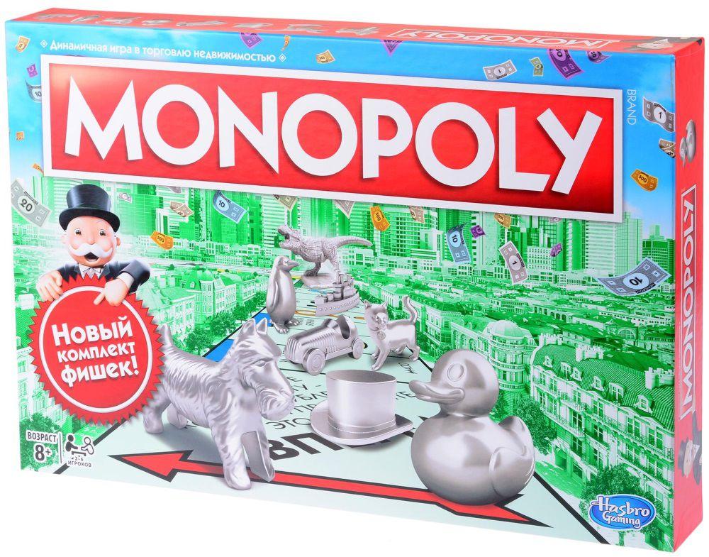 Настольная игра Монополия Классическая hasbro hasbro настольная игра монополия классическая