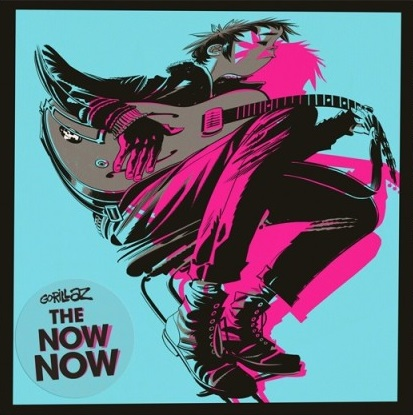 Gorillaz – The Now Now (CD) in the now cd