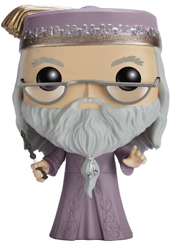 Фигурка Funko POP: Harry Potter – Albus Dumbledore With Wand (9,5 см) 1 pcs new metal core albus dumbledore magical wand magical wands high quality gift box packing without led light