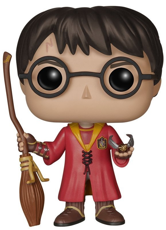 Фигурка Funko POP: Harry Potter – Harry Potter Quidditch (9,5 см) jada гарри поттер фигурка harry год седьмой