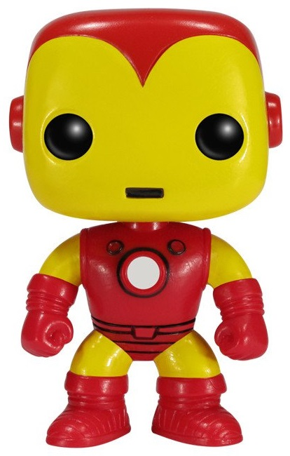 Фигурка Funko POP Marvel: Marvel – Iron Man Bobble-Head (9,5 см) цена