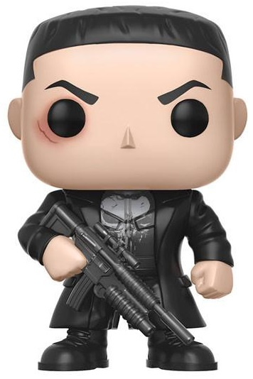 Фигурка Funko POP Marvel: Marvel Daredevil – Punisher Bobble-Head (9,5 см) цена