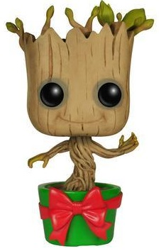 Фигурка Funko POP Marvel: Guardians Of The Galaxy – Holiday Dancing Groot Bobble-Head (9,5 см) цена
