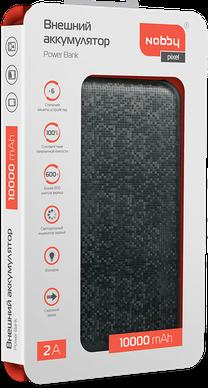 Зарядное устройство портативное Nobby Pixel 030-002 (чёрный) 2600mah power bank usb блок батарей 2 0 порты usb литий полимерный аккумулятор внешний аккумулятор для смартфонов светло зеленый