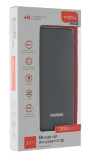 Зарядное устройство портативное Nobby Comfort 018-001 (графит)