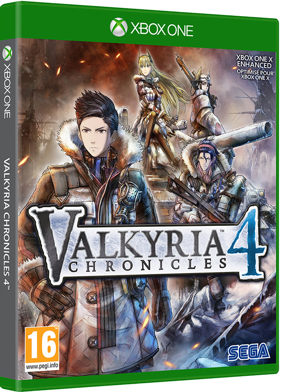 Valkyria Chronicles 4 [Xbox One] anime valkyria chronicles juliana everbart x mas party ver 1 7 scale sexy adult figure collectible model toys for christmas gi