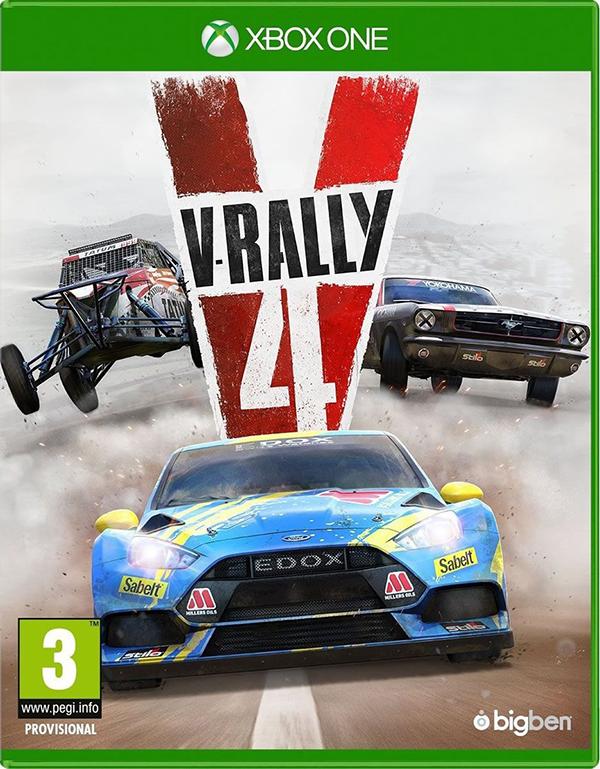 V-Rally 4 [Xbox One] подставка bigben interactive xbox one camera stand