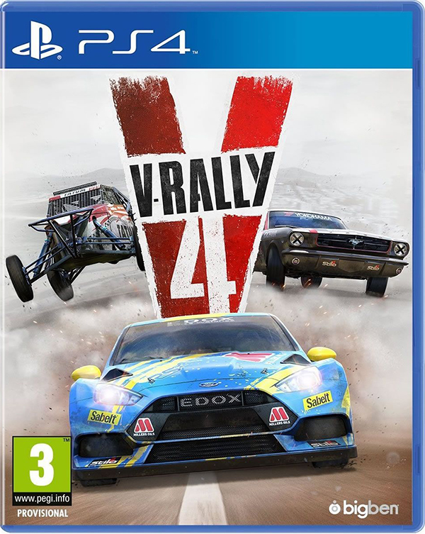 V-Rally 4 [PS4] подставка bigben interactive xbox one camera stand
