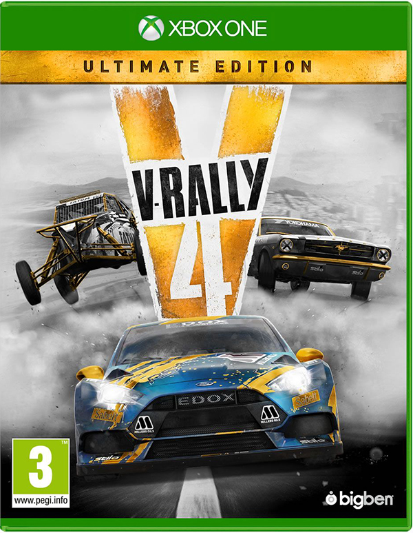V-Rally 4. Ultimate edition [Xbox One] подставка bigben interactive xbox one camera stand