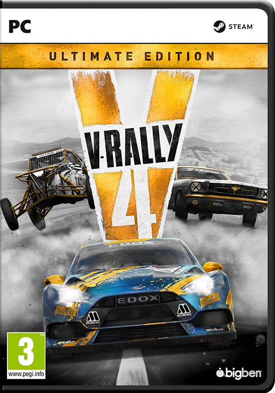 V-Rally 4. Ultimate edition [PC] подставка bigben interactive xbox one camera stand