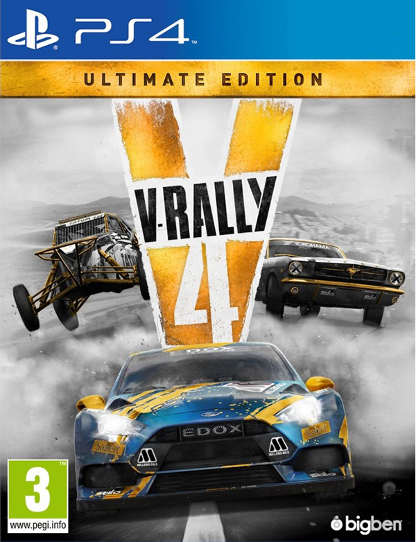 V-Rally 4. Ultimate edition [PS4] подставка bigben interactive xbox one camera stand