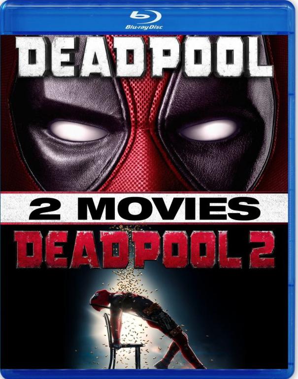Дэдпул + Дэдпул 2. Коллекционное издание (2 Blu-ray) видеодиски reanimedia берсерк золотой век фильм 2 битва за долдрей коллекционное издание