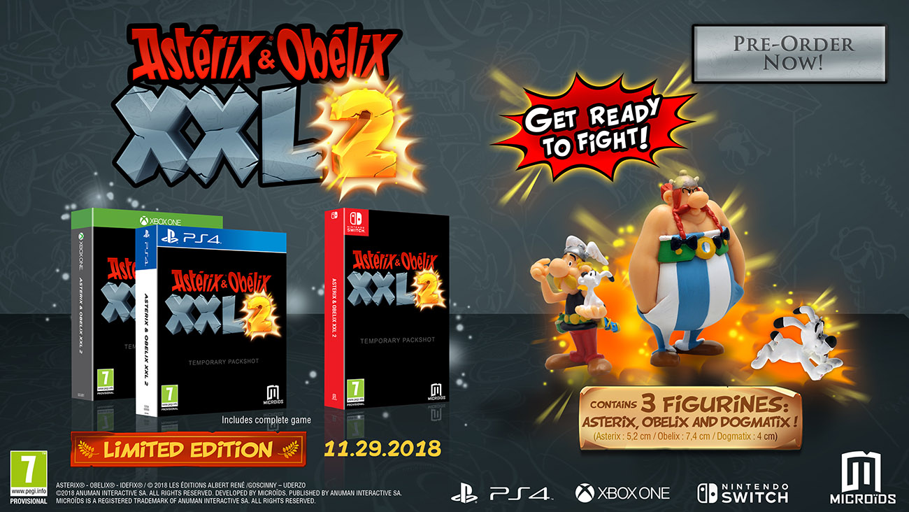 Asterix and Obelix XXL2. Limited Edition [Xbox One] qfn ltc2184up ltc2184cup 1pcs in stock