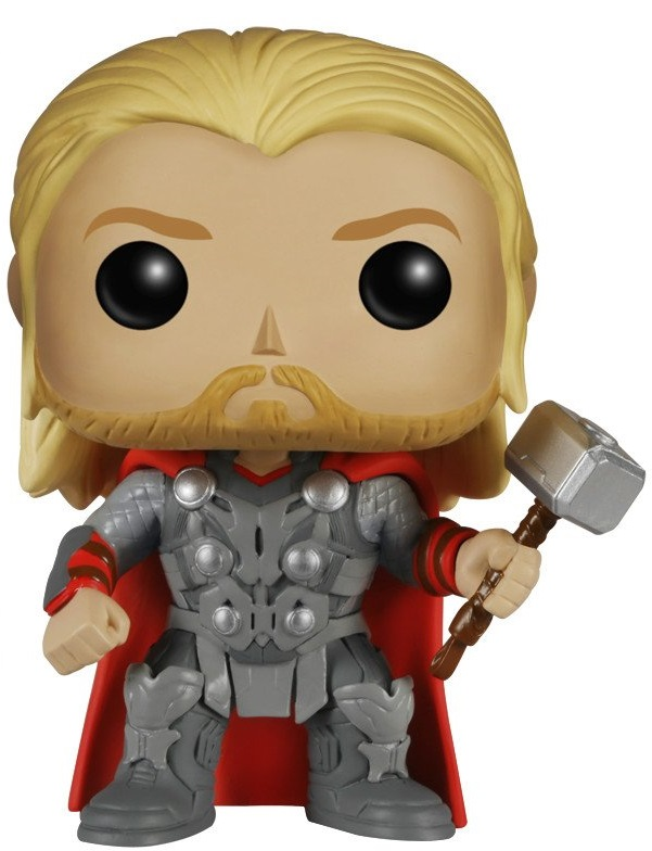 Фигурка Funko POP Marvel: Marvel Avengers Age Of Ultron – Thor Bobble-Head (9,5 см) цена