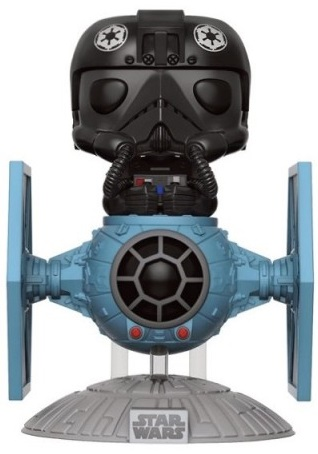 Фигурка Funko POP: Star Wars – TIE Fighter Pilot With TIE Fighter (9,5 см) lepin 05048 movie tie striker tie pilot trooper mobile building block bricks children for gift 75154