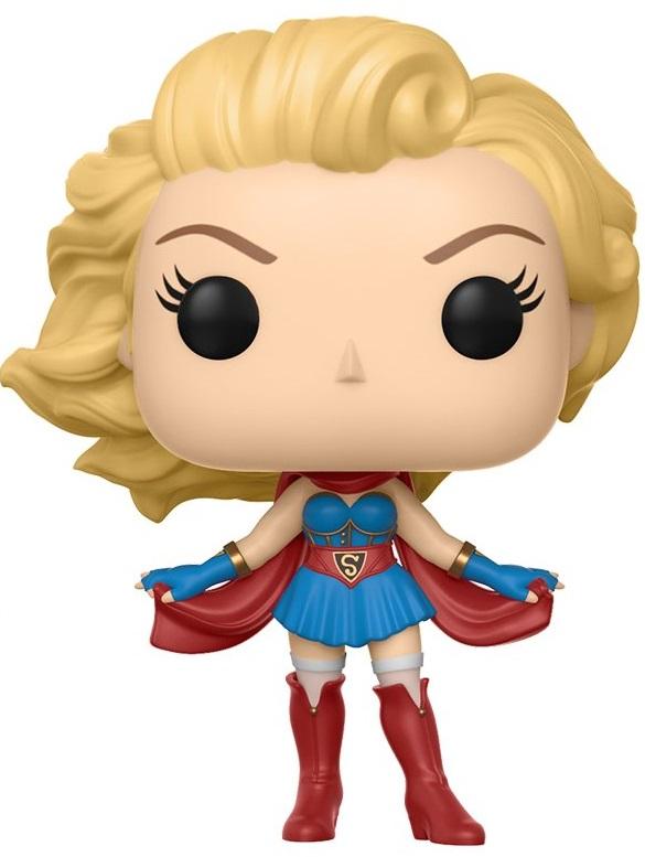 Фигурка Funko POP Heroes: DC Comics Bombshells – Supergirl (9,5 см) supergirl book two