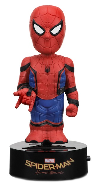 Коллекционная фигурка на солнечной батарее Spider-Man: Homecoming Spider-Man (16 см)
