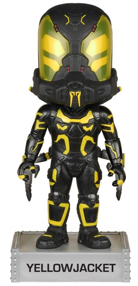 Фигурка Funko Marvel: Ant-Man – Yellowjacket Wacky Wobbler Bobble-Head фигурка funko pop bobble marvel black panther nakia