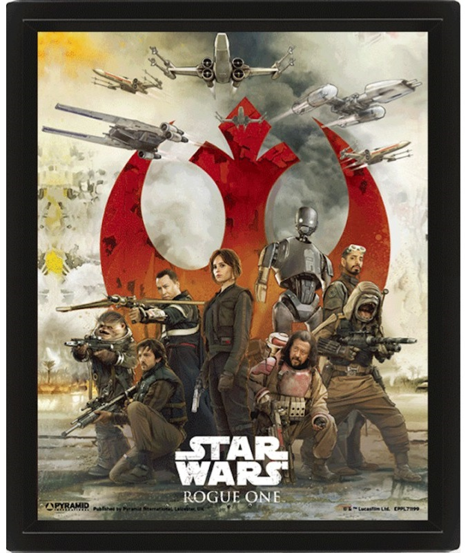 3D Постер Star Wars: Rogue One – Choose a Side lno 049 267pcs star wars mini diamond building blocks