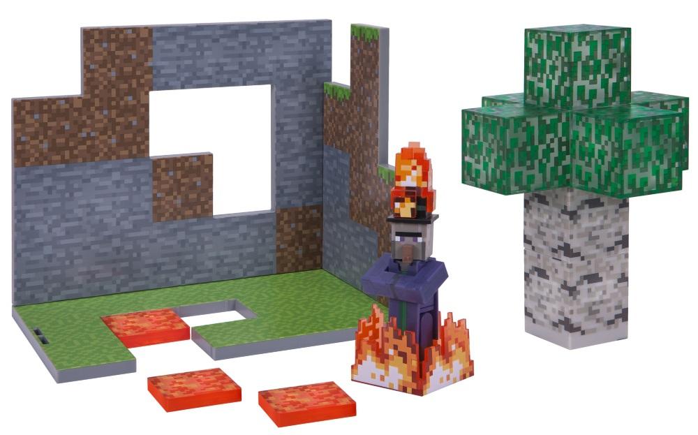 Набор фигурок Minecraft: Birch Forest Biome фото