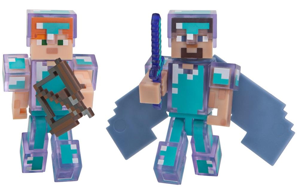 Набор фигурок Minecraft: Hardcore Survival Pack игра minecraft player survival pack 16450