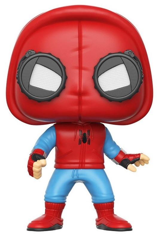 Фигурка Funko POP: Spider-Man Homecoming – Spider-Man Homemade Suit Bobble-Head (9,5 см) shf s h figuarts spider man homecoming ver pvc action figure collectible model toy 14cm