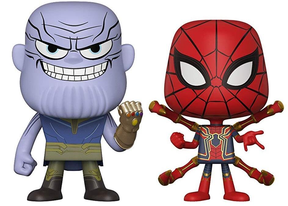 Фигурка Funko Vynl: Marvel Avengers Infinity War – Thanos + Iron Spider