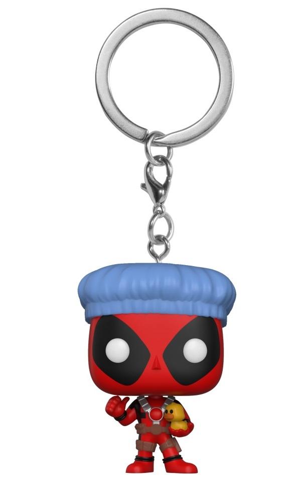 Брелок Funko POP: Deadpool – Bathtime Deadpool Bobble-Head фигурка funko pop bobble marvel black panther nakia