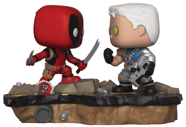 Фигурка Funko POP: Deadpool – Deadpool Vs. Cable (9,5 см) фигурка funko pop bobble marvel black panther nakia