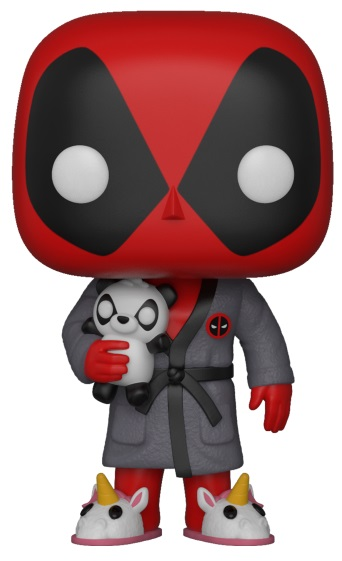 Фигурка Funko POP: Deadpool – Bedtime Deadpool Bobble-Head (9,5 см) цена