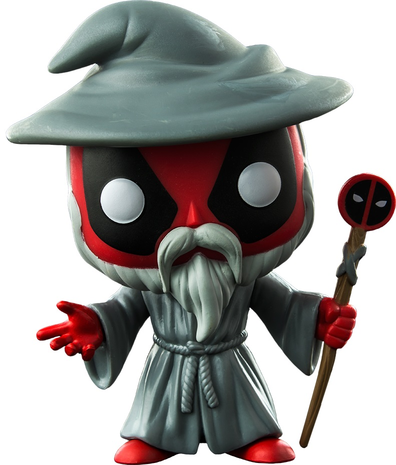 Фигурка Funko POP: Deadpool – Wizard Deadpool Bobble-Head (9,5 см) цена