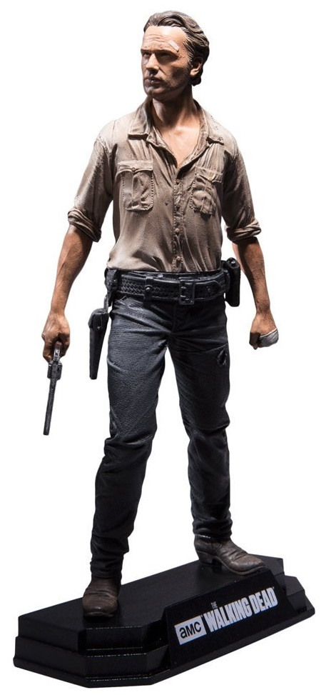 Фигурка The Walking Dead: Rick Grimes (18 см) haogaole 100pcs building blocks negan rick the walking dead figures super hero model assemble action bricks kids diy toys kl9003