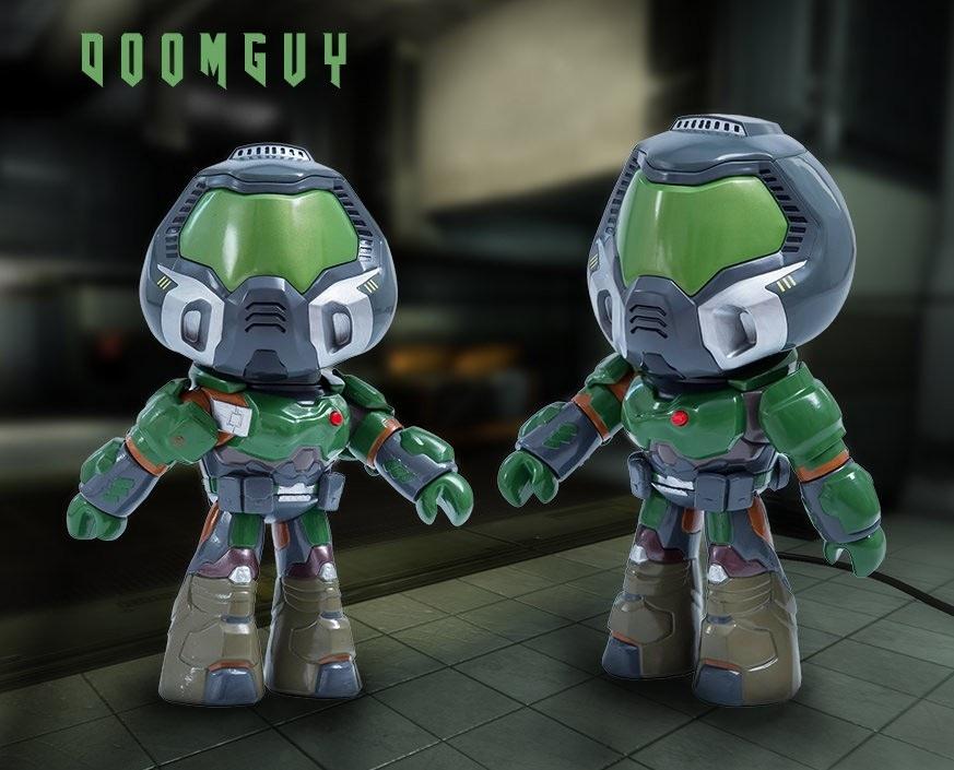 Фигурка со звуком DOOM: DoomGuy Collectible (22,8 см)
