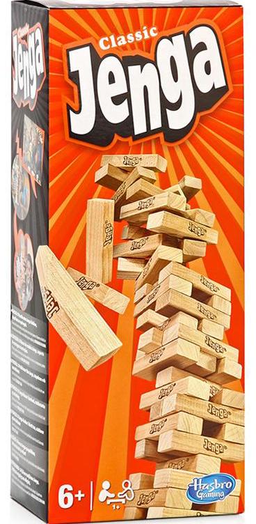 Настольная игра Jenga Orange фото
