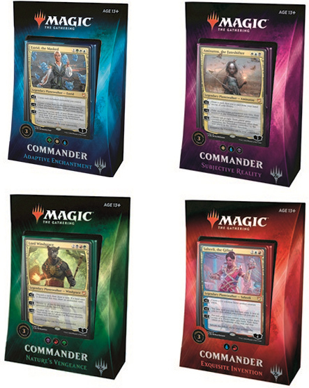 Magic The Gathering: Commander 2018 (английская версия) magic the gathering амонхет – бустер