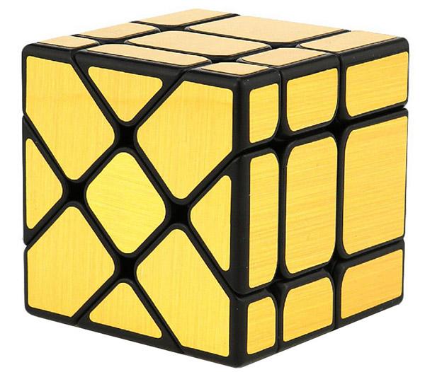Головоломка Зеркальный кубик: Фишер (золотой)