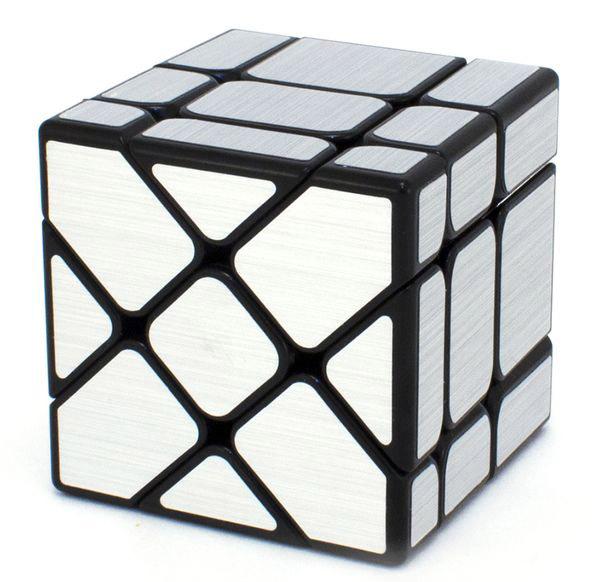 Головоломка Зеркальный кубик: Фишер (серебрянный)