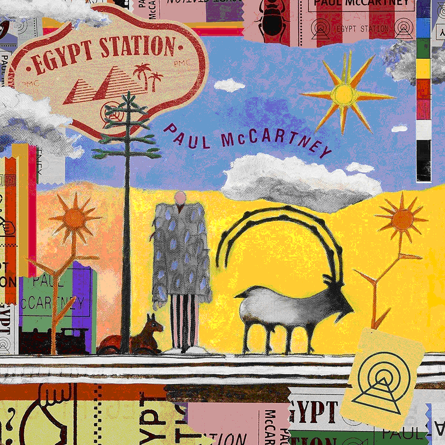 Paul McCartney – Egypt Station. Deluxe Edition (2 LP) roxy music roxy music the studio albums limited edition 8 lp