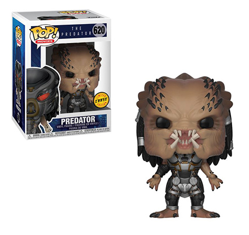 Фигурка Funko POP Movies: The Predator – Predator Helmet Off Chase (9,5 см) кальсоны ultramax xl black 50 52l u4921 blk