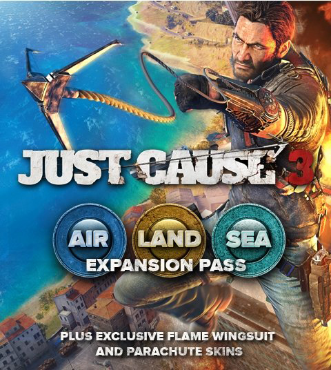 Just Cause 3. Air, Land & Sea Expansion Pass. Дополнение [PC, Цифровая версия] (Цифровая версия) фото